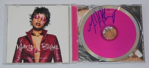 Mary J. Blige No More Drama Signed Autographed Music Cd Compact Disc Loa