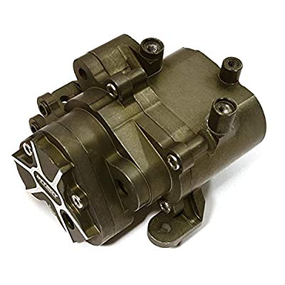 Integy RC Model Hop-ups C28486GUN Billet Machined Alloy Center Gearbox for Traxxas TRX-4 Scale & Trail Crawler: Toys & Games