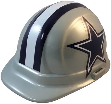 Dallas Cowboys Hard Hats, ERB Style with Standard Suspension