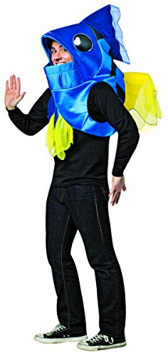 Fish Costumes For Men (Rasta Imposta Men's Fish, Blue, One Size)