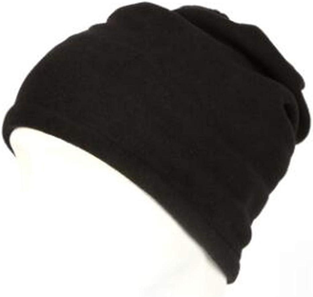 Timesuper 3-in-1 Polar Fleece Unisex Neck Scarf Beanie Hat Windproof Mask Neck Warm Adjustable