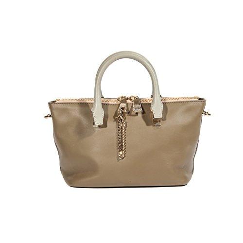 Chloé Women's Small Taupe Leather Handbag
