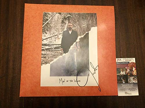 Justin Timberlake Autographed Signed Man Of The Woods Album JSA