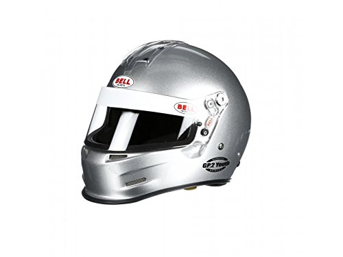 Bell Racing GP.2 YOUTH METALLIC SILVER 2XS (54-55) SFI24.1 V.15 BRUS HELMET .. ()