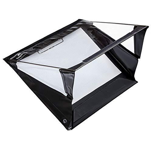 - Paperdry Letter Landscape Waterproof Clipboard - Premium PVC Material [18-Month Warranty] (Letter Landscape, Black)