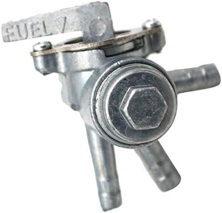 Shiwaki Atv Dirt Bike 3 Wege Gas Kraftstoff Ventil Schalter Aluminium 3 Port Benzinhahn Kraftstofftank Absperrventil 1 4 Zoll Auto
