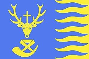 magFlags Bandera XL Saint-Hubert, Belgium   Saint-Hubert Belgique   Vlagge van Saint-Hubert   bandera paisaje   2.16m²   120x180cm