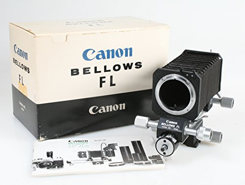 CANON BELLOWS FL F/S FROM JAPAN WITH ORIGINAL BOX AND INSTRUCTION BOOKLET