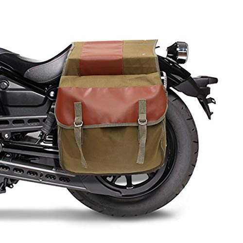 GEMITTO Heavy Duty Motorcycle Pannier Motorcycle Saddle Bag Large Capacity for