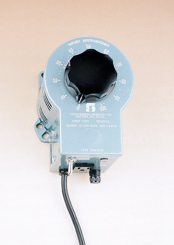 Staco 3PN1010B Portable Variable Transformer without (Portable Variable Transformer)