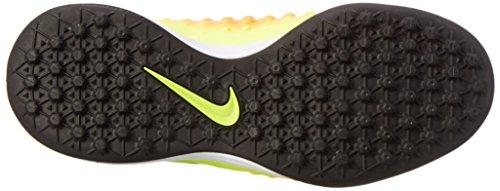 Nike Jr Magistax Opus Ii Tf, Botas De Fútbol para Niños Amarillo (volt/black-total orange-clear jade)