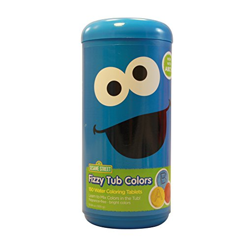 Sesame Street Fizzy tub Colors - Water C - Cookie Monster Playset Shopping Results