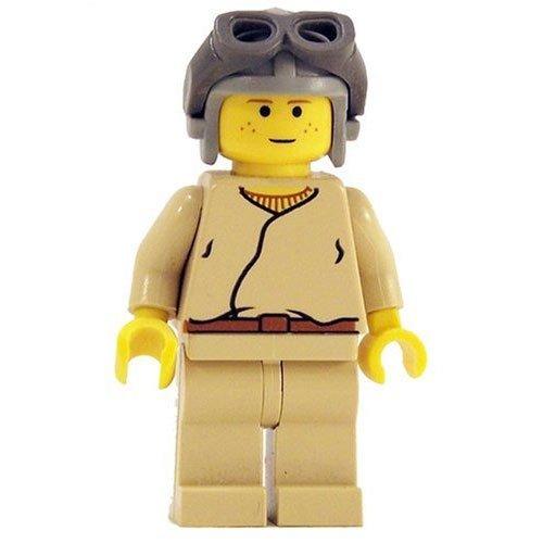 Anakin Skywalker (Young Pilot) - LEGO Star Wars Figure (Star Wars Lego Set 7171)