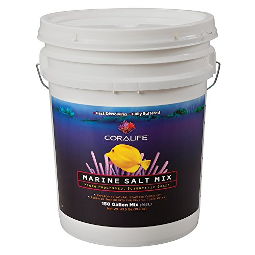 Coralife (Energy Savers) ACLAF711 Scientific Grade Sea Salt Aquarium Cleaner, 150-Gallon