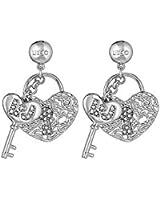 boucles d'oreilles Liujo pour femme Brass LJ842 style décontracté cod. LJ842