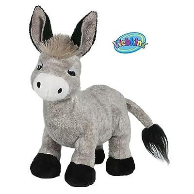 Webkinz Plush Stuffed Animal Donkey from Ganz