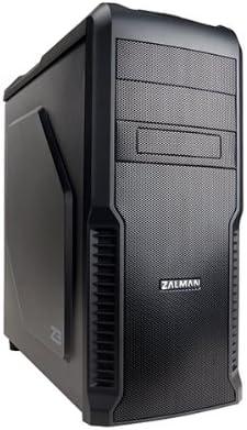 Zalman Z3 - Caja de Ordenador de sobremesa (3.5 mm, 2 x USB 2.0, USB 3.0), Negro: Amazon.es: Informática