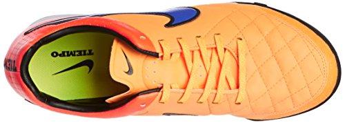 Nike Tiempo Legacy TF - Zapatillas de fútbol para hombre Amarillo (laser-orange/pures orange/volt/persisches violett 858)