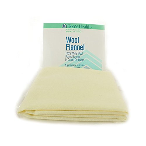 Home Health Wool Flannel, Large (Flannel Wool)