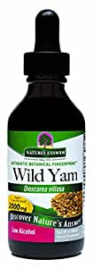 Nature's Answer Wild Yam Root with Organic Alcohol, 2-Fluid Ounces