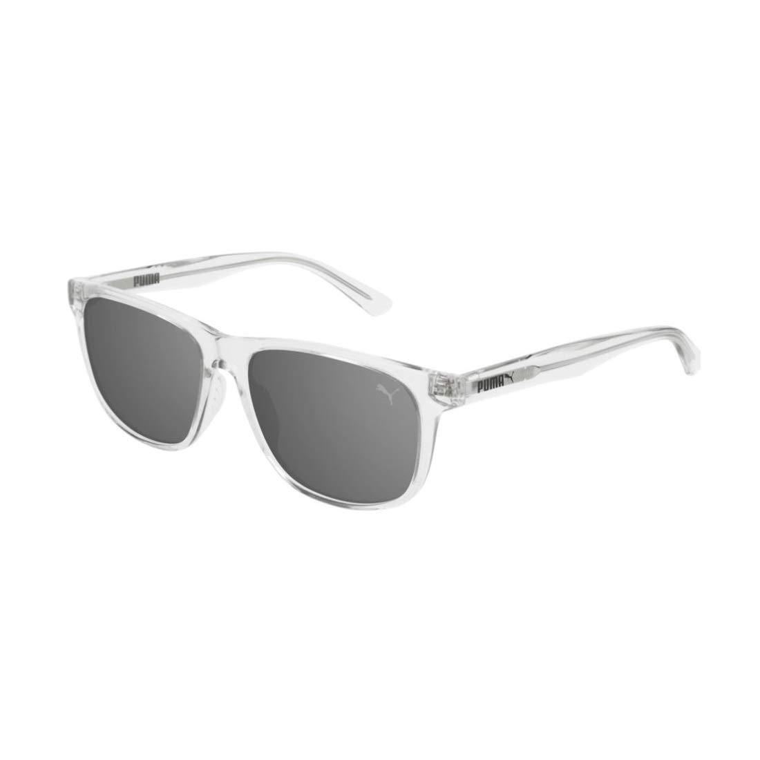 Puma Junior Gafas de Sol, Transparente Crystal/Silver, 52.0 ...
