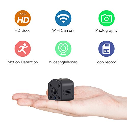 SOWELL HD Mini Wifi Camera 720P HD Wifi Security Camera for