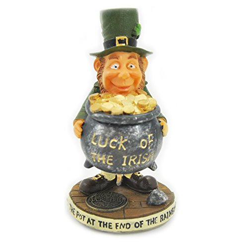 Carrolls Irish Gifts Finnian Statue - The Pot at The End of The Rainbow