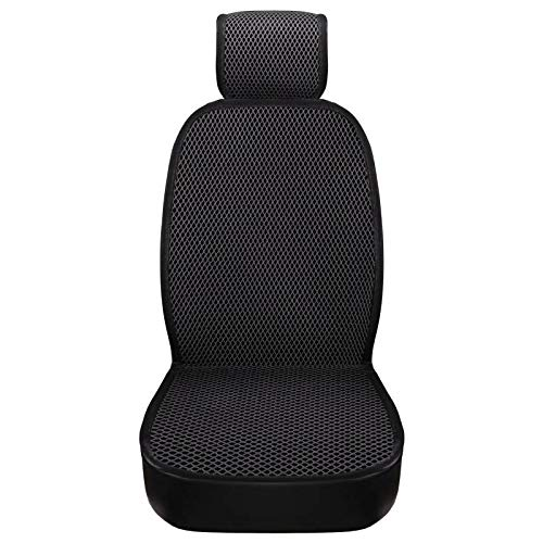 Seat Cover Car Seat Cushion with Backrest Cushion Four Seasons with Three Sets of Summer Ice Silk Breathable Free Tied Single Piece Summer (Noah Car Covers Best Price)