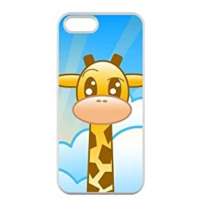 Welcome!Iphone 5/5S Cases-Brand New Design Cute Giraffe Printed High Quality TPU For Iphone 5/5S 4 Inch -07