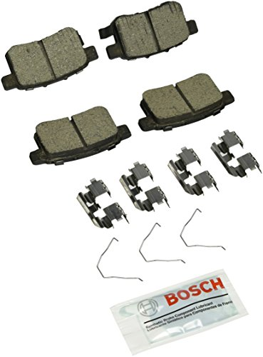 Brake Pad Shim Set - Bosch BC1451 QuietCast Premium Ceramic Rear Disc Brake Pad Set