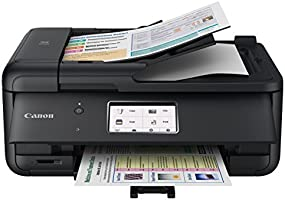 Canon TR8520 All-In-One Printer For Home Office |Wireless | Mobile Printing | Photo and Document Printing, AirPrint(R)...