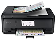 The home office printer that's powerful, yet compact a home office should boost your efficiency at work, but should also handle all your home needs too. And the PIXMA TR8520 does just that. When you need a home office printer that can handle ...