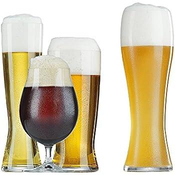 Spiegelau tasting kit craft beer glass kit for Craft brew beer tasting glasses
