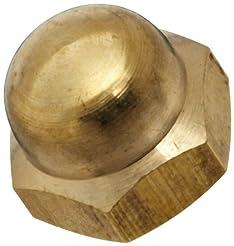 Brass Acorn Nut, Grade 8, Right Hand Thr...