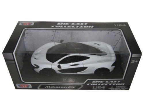 McLaren P1 White 1/24 by Motormax 79325 (1 18 Mclaren P1 Model Car)