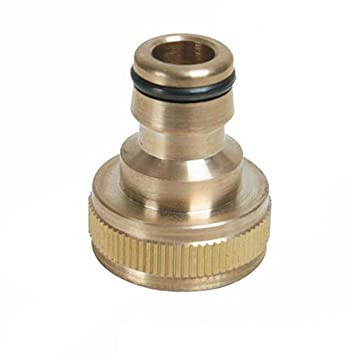 Silverline 598438 Tap Connector Brass