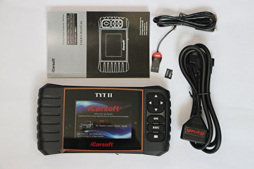 iCarsoft Car Diagnostic Scanner Tool, Oil SRS ABS Engine by iCarsoft (Image #1)