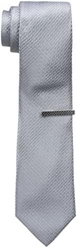 Nick Graham Men's Tone On Tone Solid Neck Tie