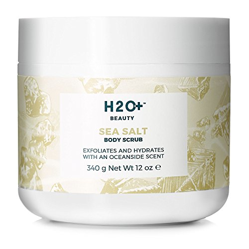 (H2O+ Beauty Sea Salt Body Scrub, Exfoliates and Hydrates with an Oceanside Scent, 12 Ounce)