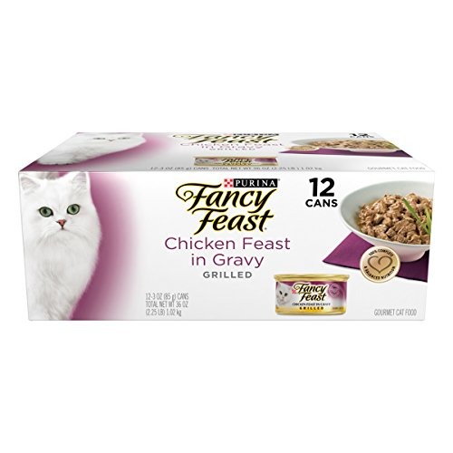 Purina Fancy Feast Grilled Chicken Canned Cat Food, One Cart