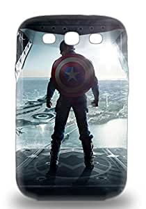 Galaxy Cover 3D PC Case Hollywood Captain America The Winter Soldier Sci Fi Adventure Action Protective 3D PC Case Compatibel With Galaxy S3 ( Custom Picture iPhone 6, iPhone 6 PLUS, iPhone 5, iPhone 5S, iPhone 5C, iPhone 4, iPhone 4S,Galaxy S6,Galaxy S5,Galaxy S4,Galaxy S3,Note 3,iPad Mini-Mini 2,iPad Air ) Kimberly Kurzendoerfer