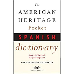 HOUGHTON MIFFLIN AMERICAN HERITAGE POCKET SPANISH (Set of 12)