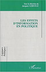 Les effets d'information en politique