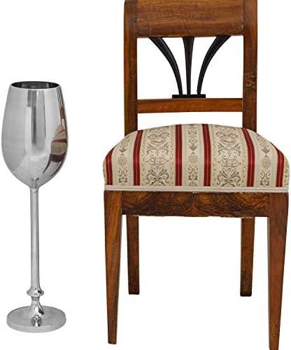 Sektkühler mit Ständer Sektglas Kühler Flaschenkühler Sektkübel Champagner 64cm