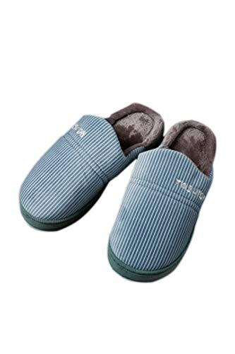 Antidérapantes Pantoufles Les Zinmuwa Blue Indoor Confortables Outdoor Seul ACt55q7d