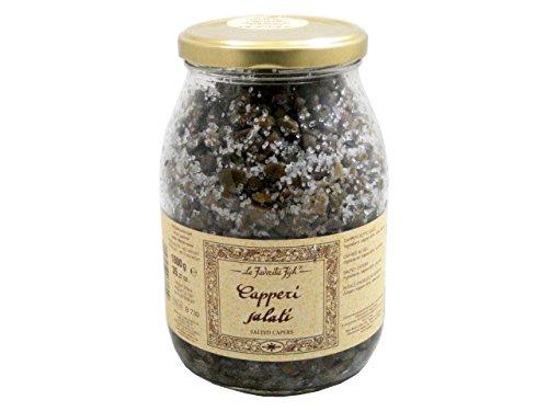 Salted Capers (35.27 Ounce) by La Favorita by La favorita (Image #1)