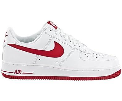 Nike Air Force 1 Rot Weiß