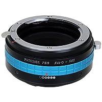 Fotodiox Pro Lens Mount Adapter w/ De-Clicked Aperture Dial, Nikon G, DX Lens to Sony E-Mount NEX Cameras