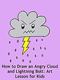 Amazon.com: How to Draw an Angry Cloud and Lightning Bolt ...