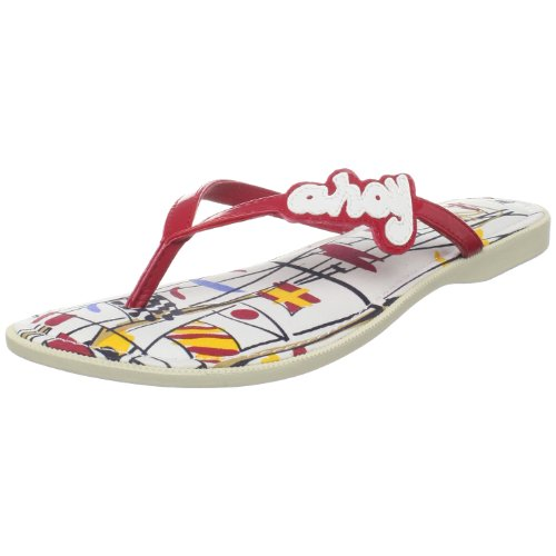 Sperry Top-Sider Women's South Beach Wedge Sandal,Red,7.5 M US